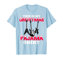 Load image into Gallery viewer, This Is My Christmas Pajama Xmas Plaid Funny Guitarist Gift T-Shirt