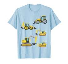 Load image into Gallery viewer, Construction Truck Shirt. Heavy Equipment T Shirts