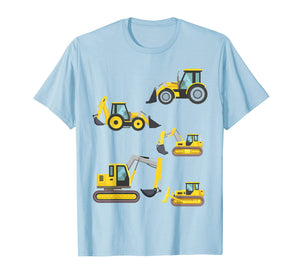 Construction Truck Shirt. Heavy Equipment T Shirts