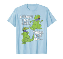 Load image into Gallery viewer, Rugrats Reptar At First I Was Then I Was Graphic T-Shirt