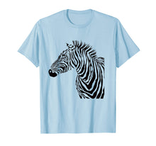 Load image into Gallery viewer, Cute African stripe Zebra Zoo t shirt