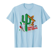 Load image into Gallery viewer, Funny Cinco De Mayo cactus T-Shirt Costume Gifts Women Men