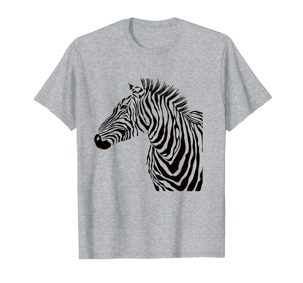 Cute African stripe Zebra Zoo t shirt