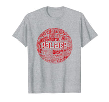 Load image into Gallery viewer, Crystal Palace - Red Typography Print t-shirt