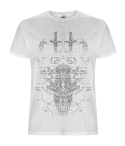 POLARIS - White Organic T-shirt