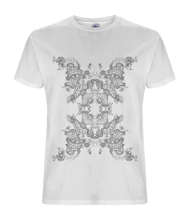 At Space - White Organic T-shirt