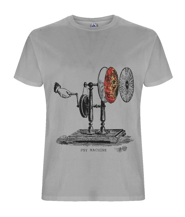 Psy Machine  - Organic T-shirt