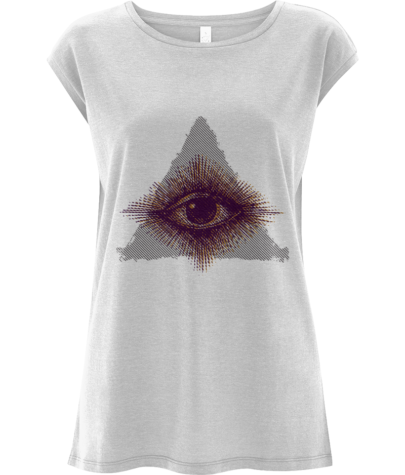 The all seeing Eye - Women's Tencel Blend Sleeveless Top