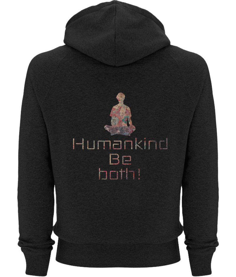 Humankind be Both - Organic Pullover Hoodie