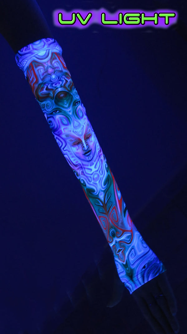 Arm Sleeve : Holographic Altar
