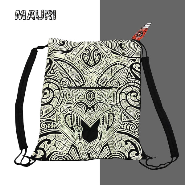 Glow in the dark sack bag - Mauri