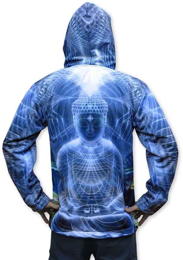 Sublime Hooded Jacket : Ocean Buddha