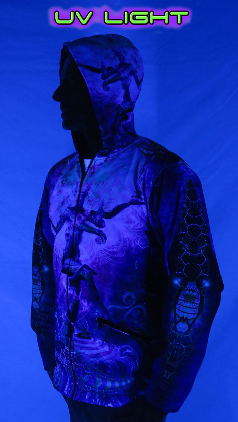 Sublime Hooded Jacket : Serpentine Apotheosis