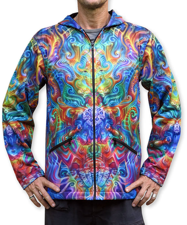 Sublime Hooded Jacket : Holographic Altar