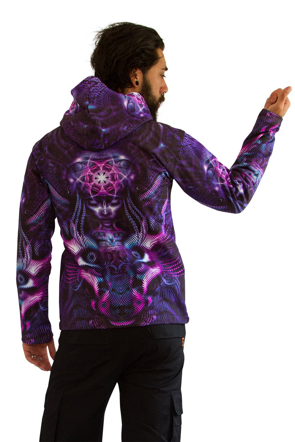 Hooded  Zip Jacket : Violet Foxy Lady