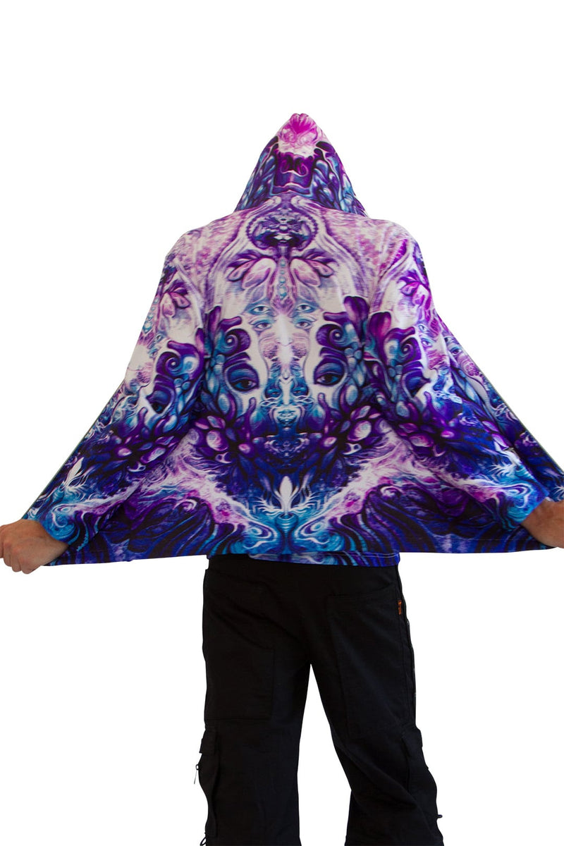 Hooded  Zip Jacket : Purple Plasm