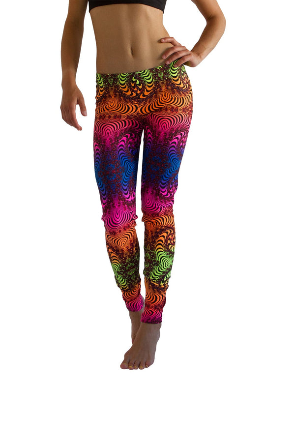 Full Print Leggings : Fractal