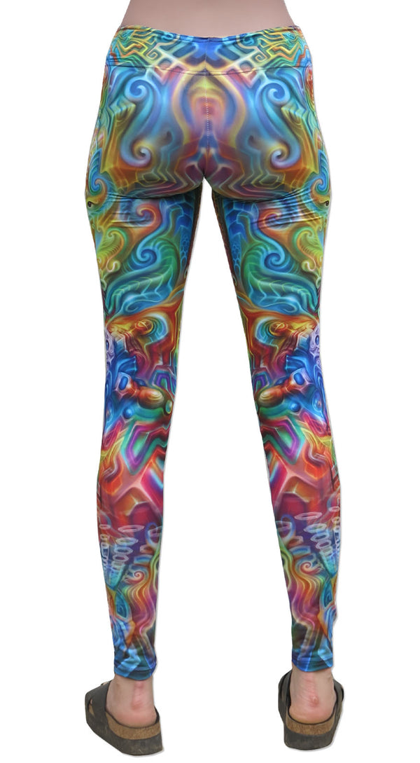Sublime Leggings : Holographic Altar