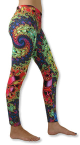 Sublime Leggings : Whirlpool Fractal