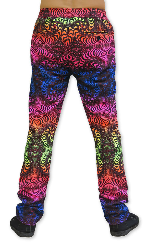 Chillout Pants : Rainbow Fractal