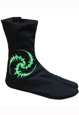 Ninja Boot Tri-skelion Embroidery