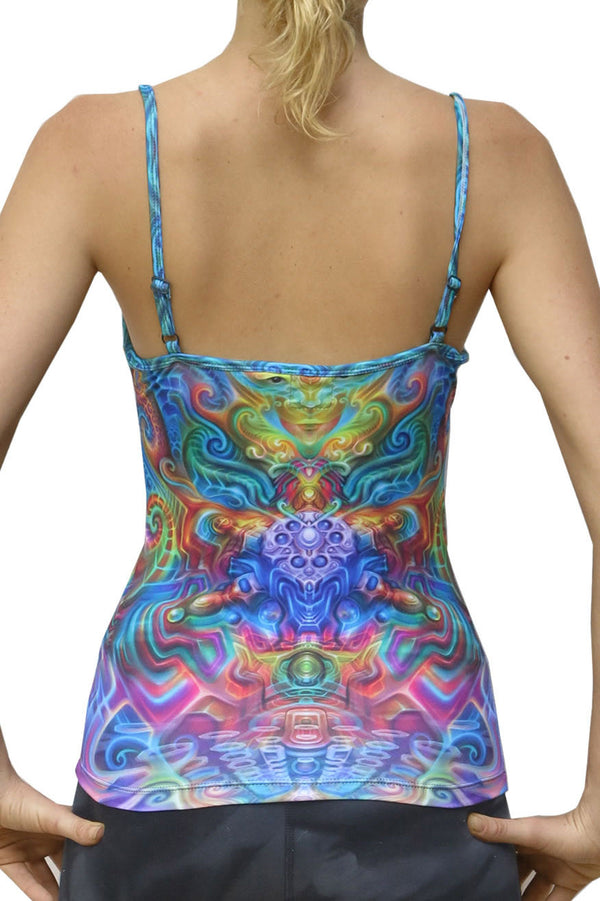 Sublime Strap Top : Holographic Altar