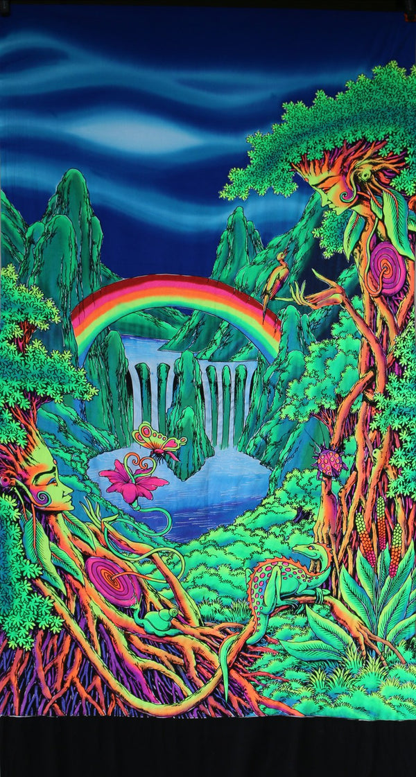 UV Wallhanging : Rainbow Falls