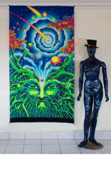 UV Wallhanging : Root of Life
