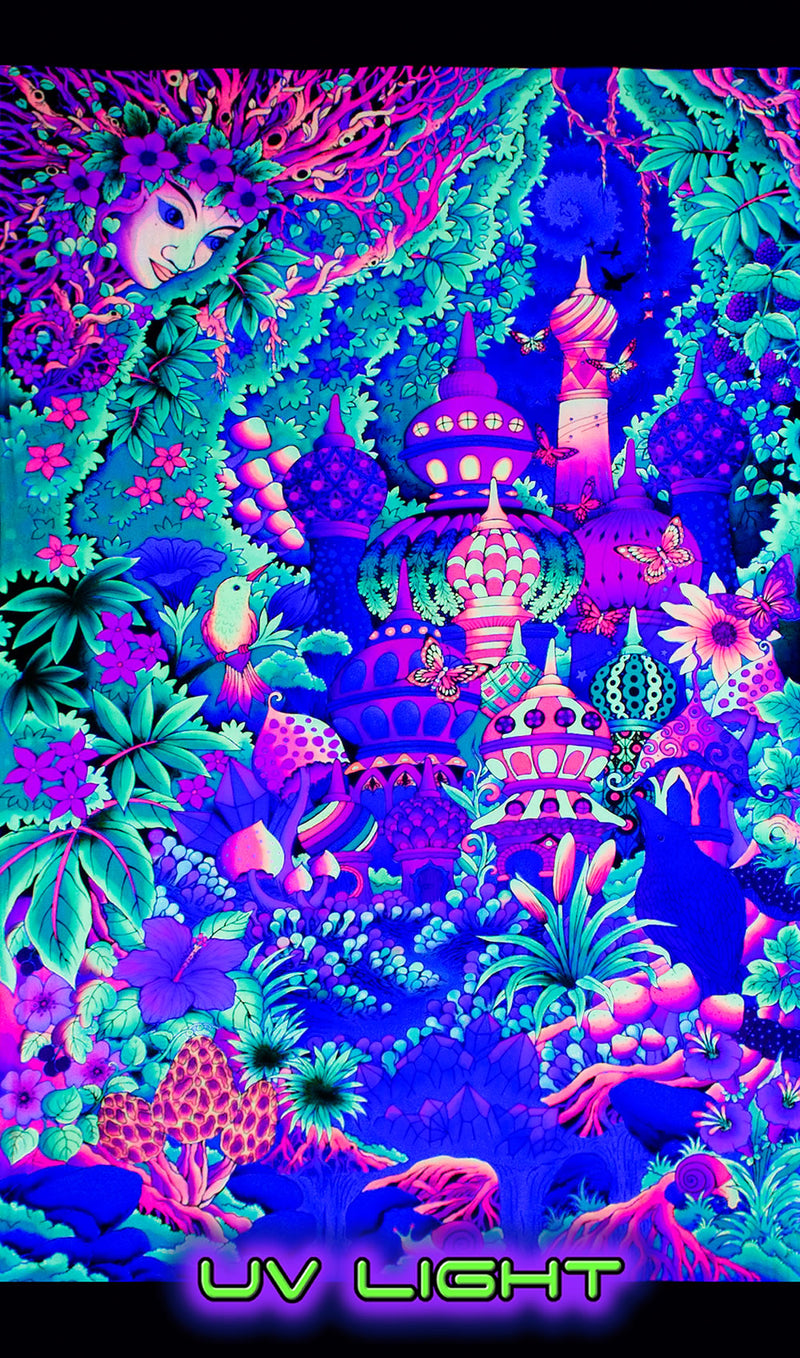 UV Wallhanging : Garden of Delights