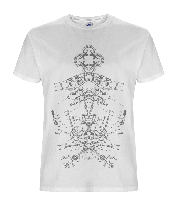 Rigel - White Organic T-shirt