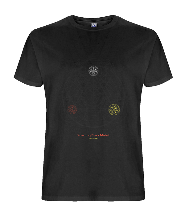 6. Snarling Black Mabel - ORGANIC T-SHIRT (Hallucinogen album Tribute)