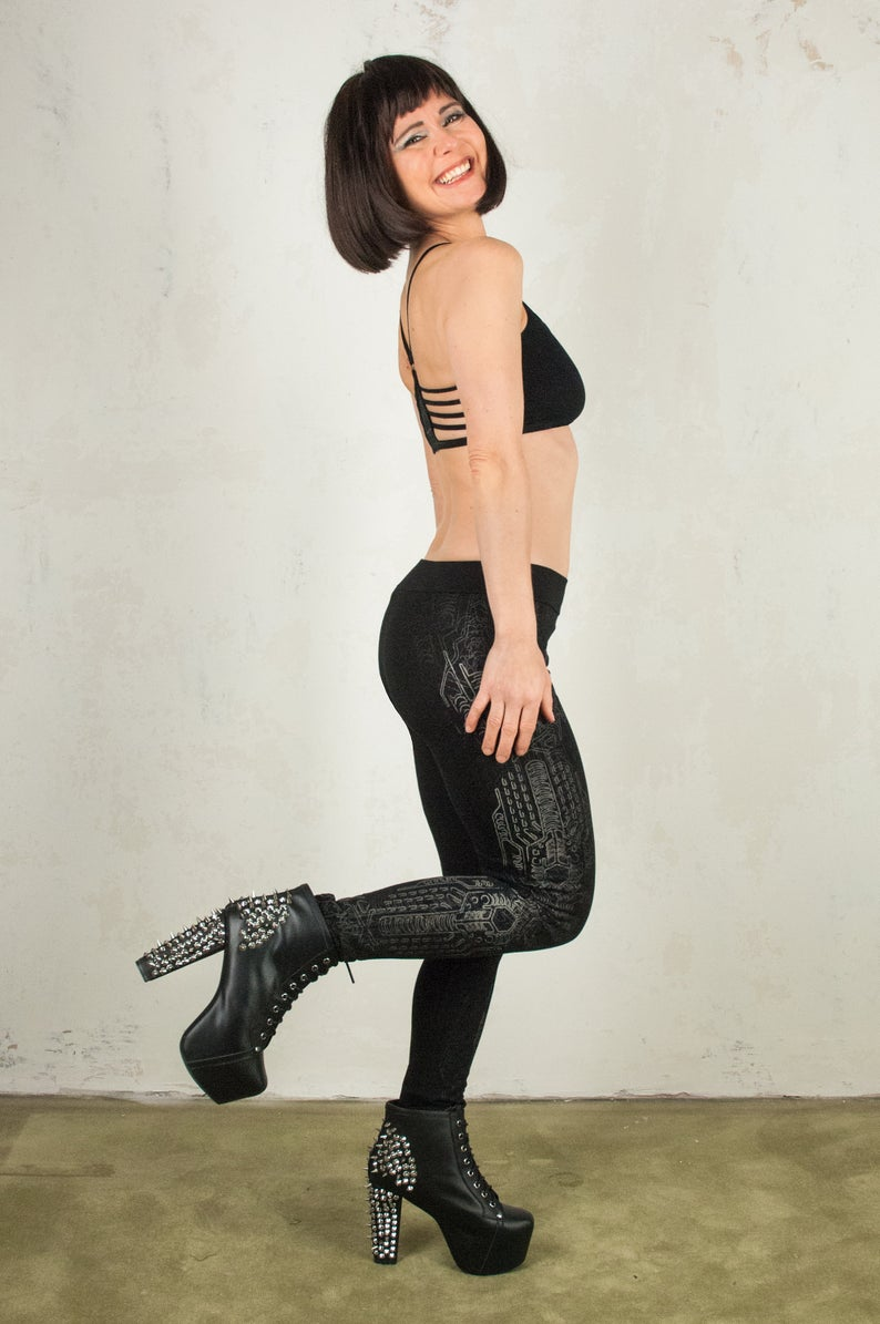 Cyberpunk Leggings