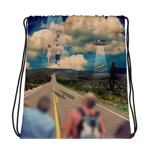 Taken Drawstring bag