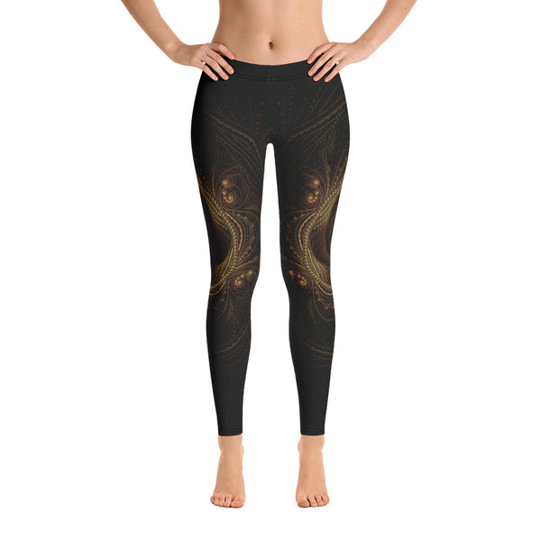Golden Gate of Time Leggings