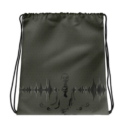 The Sound Drawstring bag