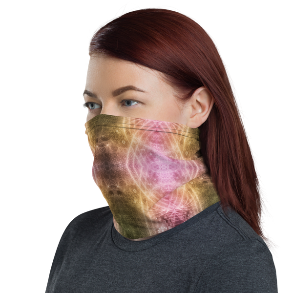 Fractal Hippies dust Mask