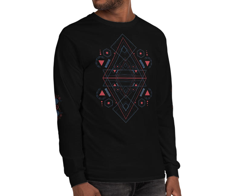 Sacred shield - Unisex Long Sleeve Shirt
