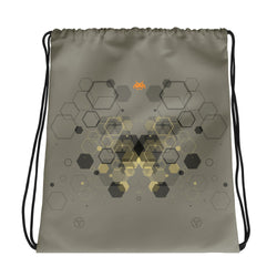 Hexagon Vibe Drawstring bag