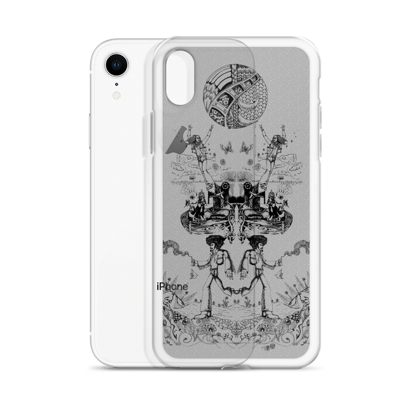 Damn Hippies - iPhone Case