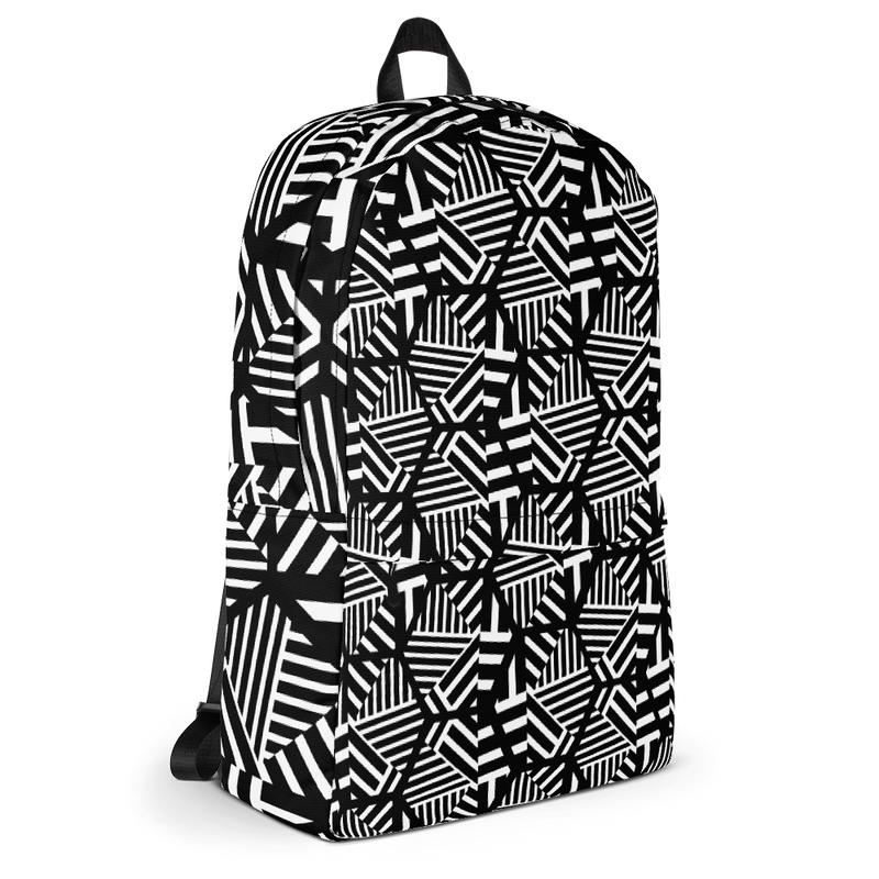 Hexagon Pattern Backpack