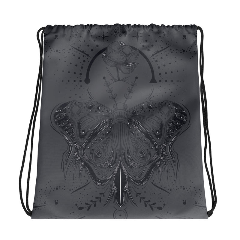 The Butterfly Effect Drawstring bag