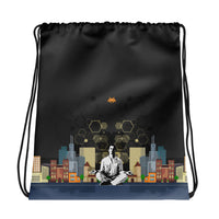 City Invaders Drawstring bag