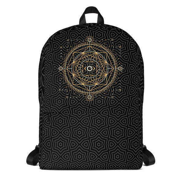 CHAMPA Pattern Backpack