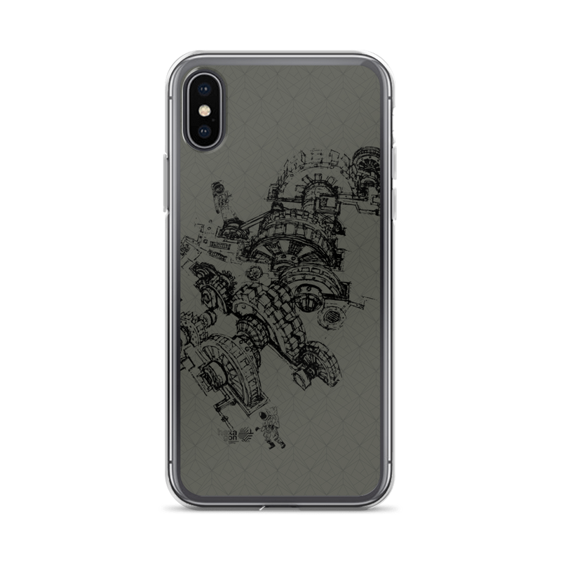 Hexagon Engine - iPhone Case