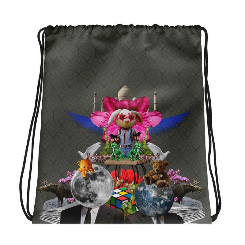 Happy Everything Drawstring bag