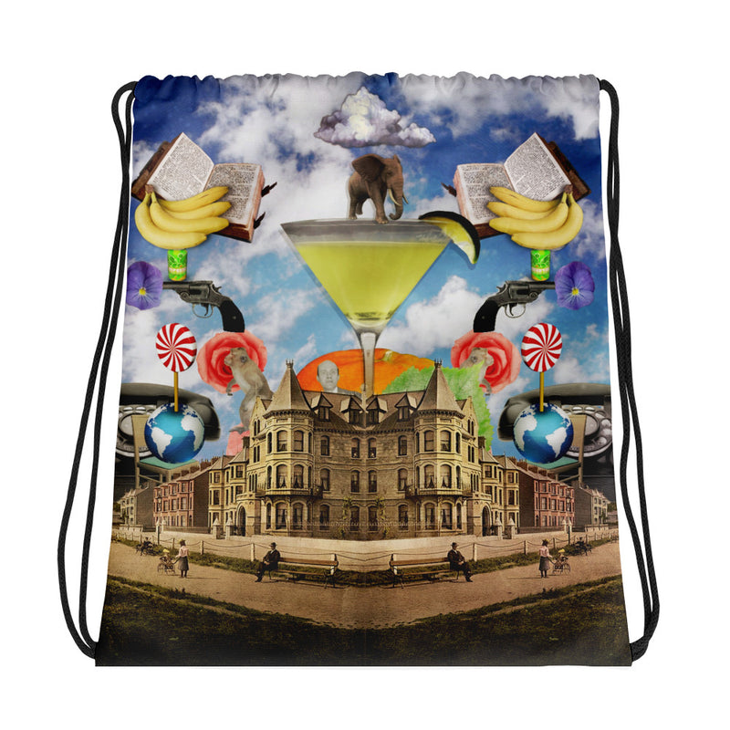 Martini Drawstring bag