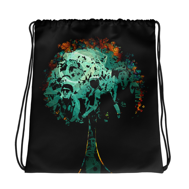 Psy Tree - Drawstring bag