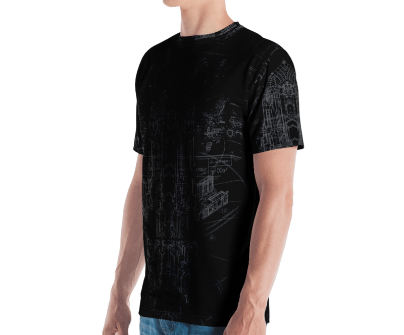 POLARIS - ALL-OVER PRINT Men's T-shirt