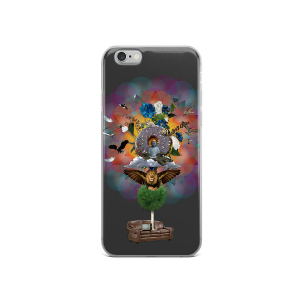 Random Lion Thoughts - iPhone Case