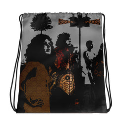 The Band Drawstring bag